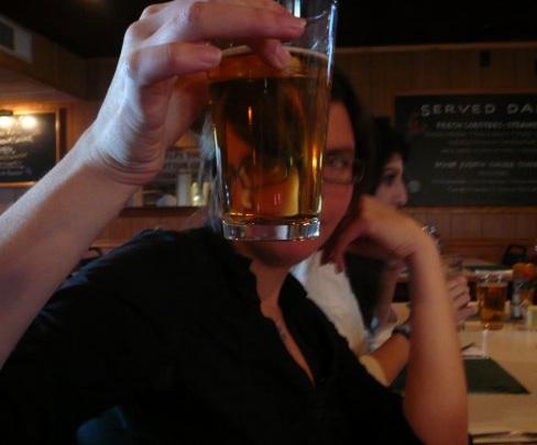 looking at beer