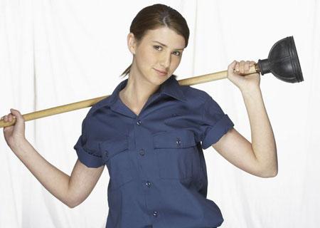 femaleplumber