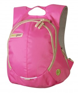 eco-gear pink backpack